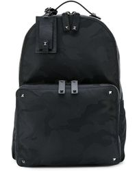 Valentino - Camouflage Backpack - Lyst