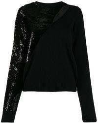 RTA Sequin-embellished Sweater - Black