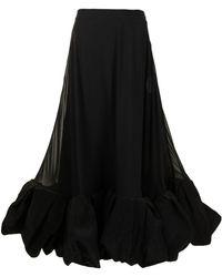 Rejina Pyo High-waisted Flared Skirt - Black