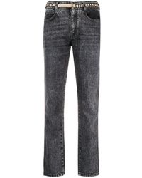 Stella McCartney Straight-leg Jeans - Grey