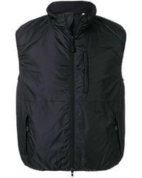 Aspesi Padded Sleeveless Jacket - Black