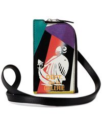 Lanvin X Gallery Dept. Card Holder Lanyard - Black