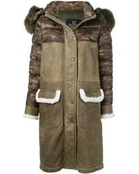 Mr & Mrs Italy Mid-length Down Jacket - Green
