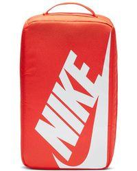 Nike Logo Make Up Bag - Orange