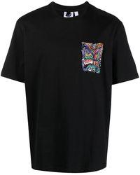 adidas Graphic-print Cotton T-shirt - Black