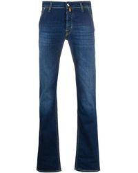 Jacob Cohen J613 Mid-rise Slim Jeans - Blue
