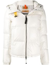 Parajumpers Quilted Down Jacket - White