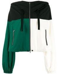 Colville Colour-block Jacket - Black