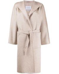 Max Mara Robe Coat - Natural
