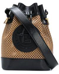 Fendi Mon Tresor Bucket Bag - Brown