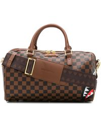 Sprayground Sharks In Paris Tote Bag - Brown
