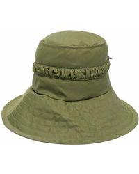 STAUD Drawstring-detail Hat - Green