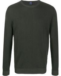 Fedeli Knitted Jumper - Green