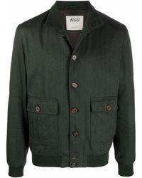 Valstar Button-up Shirt Jacket - Green