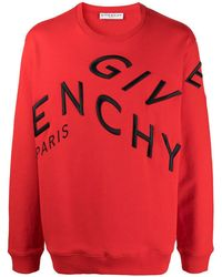 Givenchy Embroidered-logo Long-sleeve Sweater