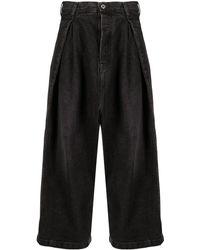 Loewe - High-waist Wide-leg Jeans - Lyst