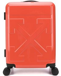 Off-White c/o Virgil Abloh Quote Carry-on Suitcase - Red