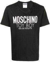 Moschino Toy Boy Perfume T-shirt - Black