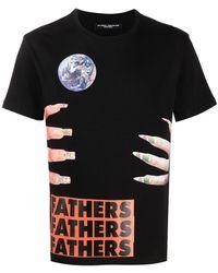 Raf Simons X Sterling Ruby Fathers T-shirt - Black