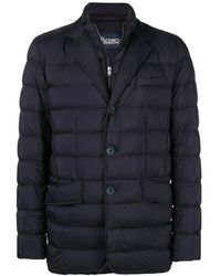 Herno Double Layer Down Jacket - Blue