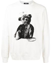 Undercover Toy-print Sweatshirt - White