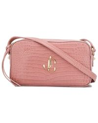 Jimmy Choo Hale Crossbody Bag - Pink