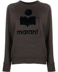 Étoile Isabel Marant Moby Logo Sweatshirt - Black