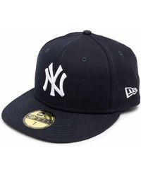 KTZ New York Yankees Flat Cap - Blue