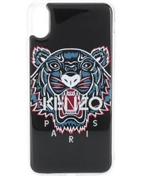KENZO Tiger Iphone Xs Max Case - Black