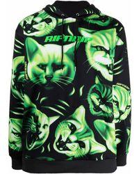 RIPNDIP Cat Print Logo Hoodie - Black