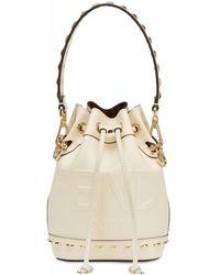 Fendi Mini Mon Tresor Bag - White