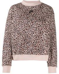 Nike Animal-print Branded Sweatshirt - Multicolour