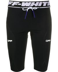 Off-White c/o Virgil Abloh Active Cycling Shorts - Black