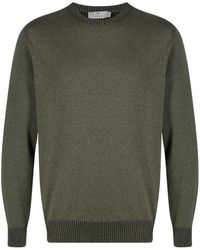 Canali - Crew-neck Knitted Jumper - Lyst