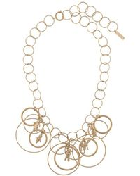 Marni Hoop Necklace