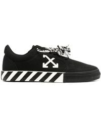 Off-White c/o Virgil Abloh Off-white Low Vulcanized Canvas Sneakers Black/white