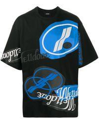 we11done Logo-print T-shirt - Black