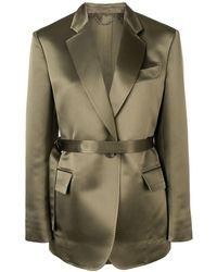 Ferragamo Classic Blazer - Green