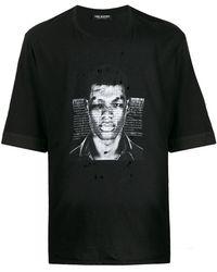 Neil Barrett Photographic Print T-shirt - Black