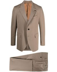 Gabriele Pasini Single-breasted Two-piece Suit - Brown