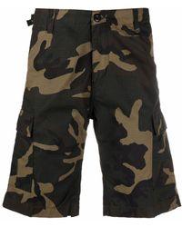 Carhartt WIP Camouflage-print Cargo Shorts - Green