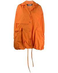 Jacquemus Ouro Bubble-shaped Parka - Orange
