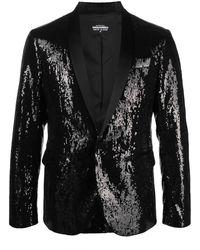 DSquared² Sequin-embellished Dinner Jacket - Black