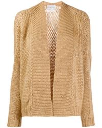Forte Forte Knitted Long Sleeve Cardigan - Natural