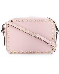 Valentino Garavani Small Rockstud Crossbody Bag - Pink