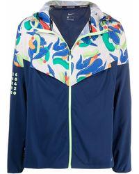Nike Windrunner Zipped Track Jacket - Blue