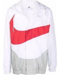 Nike Swoosh Zip-up Jacket - White