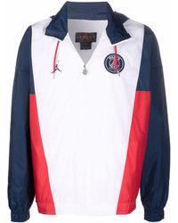 Nike Logo Chest-patch Jacket - White