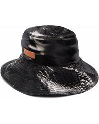 Rejina Pyo Patch Detail Hat - Black