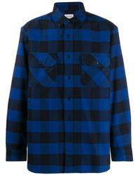 Woolrich Check Print Shirt - Blue